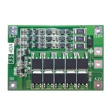 3S 40A для отвертки 12V li-ion 18650 Bms Pcm Защитная плата для батареи Bms Pcm с балансом Liion батарейный блок модуль