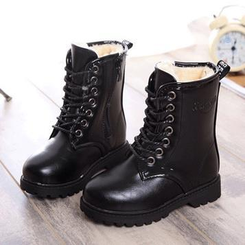 High quality children's boots autumn winters girls cotton shoes boys waterproof snow boots kids winter boots 27-37 751
