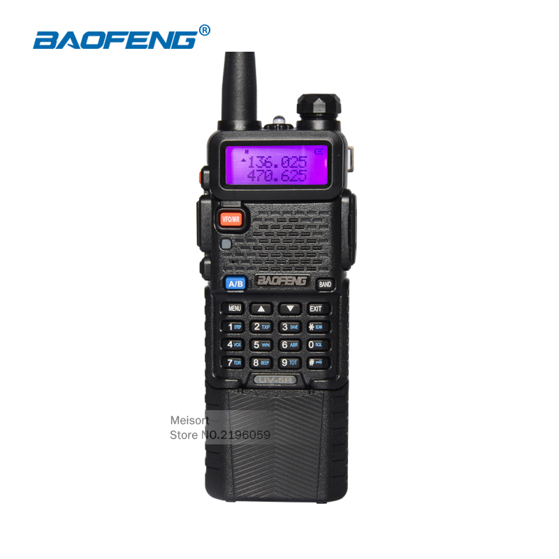 Baofeng UV 5R 3800mAh Battery Walkie Talkie Dual Band UHF VHF Frequency Portable Handheld Two Way