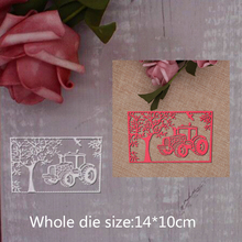 car card Metal Cutting Dies Frame Craft Stamp Scrapbooking Embossing Stencils For Handmade Paper Cards