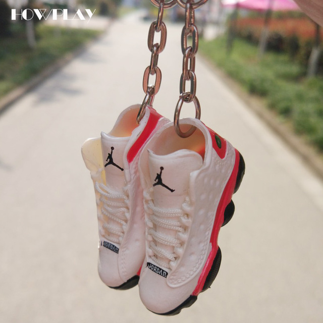 ... og sneakers shoes 3d f8c78 684b8  release date howplay jordan 13  basketball shoes model three dimensional keychain backpack pendant soldier  shoes aj13 5ab4b7d82