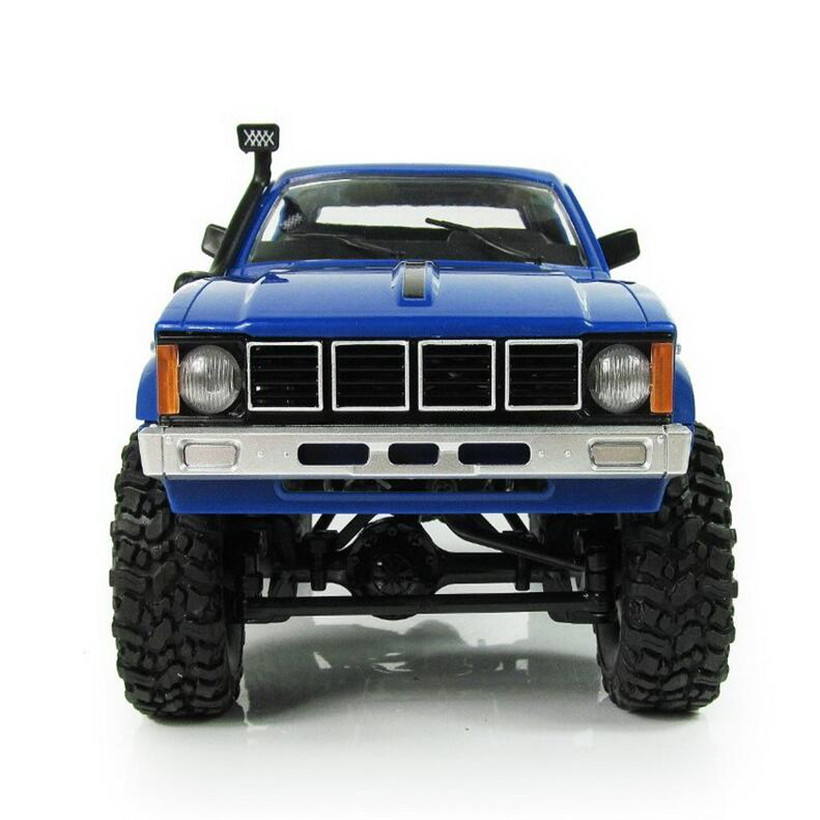 1:16 WPL C24 Diy RC Car Kit Remote Control Wltoys RC Crawler 4WD Off-Road Buggy Remote Car Uzaktan Kumandali Araba Kids Toys