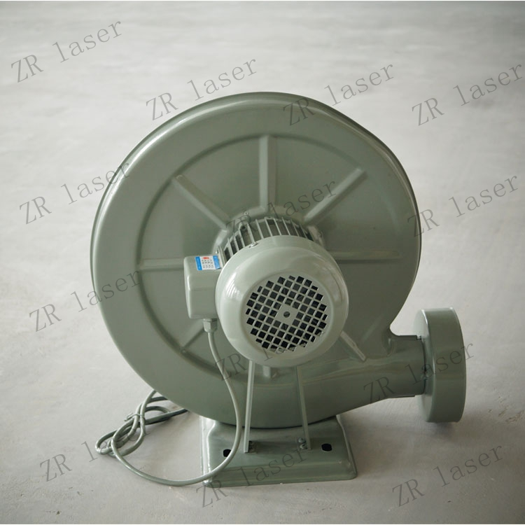 good quality 220V Exhaust Air Blower Centrifugal for laser engraving machine fan 750W ZuRong free shipping china 20w exhaust small centrifugal fan blower 50mm pipe