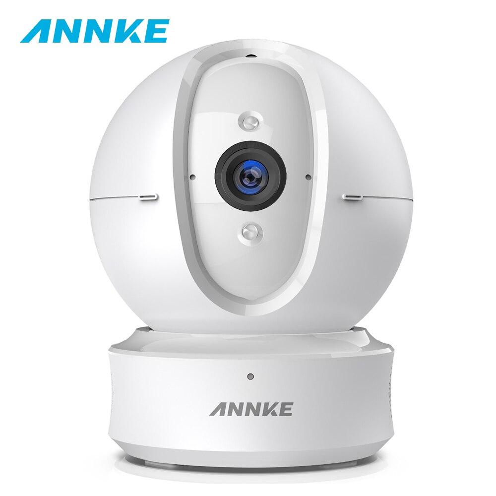 ANNKE 1080P Home Security IP PT Camera Wi Fi Wireless Mini Network Camera Surveillance Night Vision