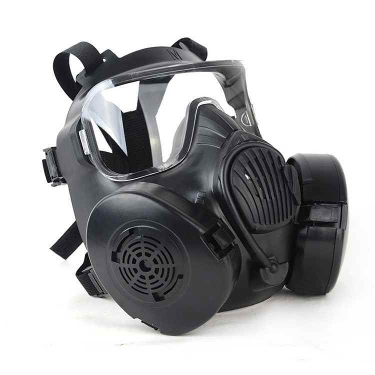New Masks 1pc Tactial M50 Airsoft Mask Adults Paintball Full Face Skull Gas Cs Mask With Fan 22.5*17.5cm Back To Search Resultshome