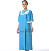 Christian church Wear for women Robe Cosplay Pious Priest Costume Christianity gown robe