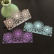 Openwork lace Metal Cutting Dies Scrapbooking craft cuts thin paper art emboss card make stencil