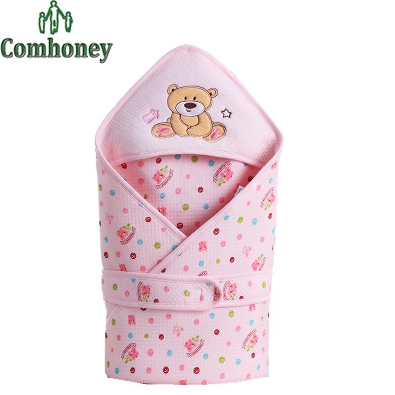 baby sleeping bag cartoon bear envelopes for newborn sleepsack infant sleep blanket baby stroller sleeping bag