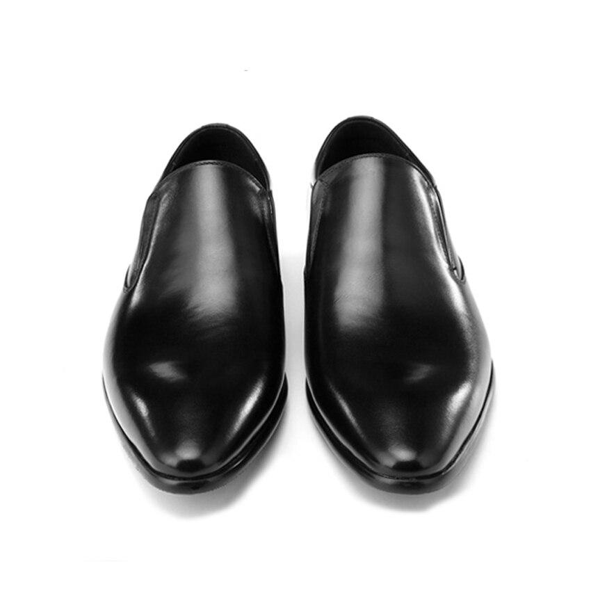 Genuíno Homem Vinho Clássico Homens Couro Italiano Toe Partido Preto Apontou Casamento De vermelho Designer Deslizamento Bql168 Handmade Em Sapatos Dos Casuais R6wXqqz