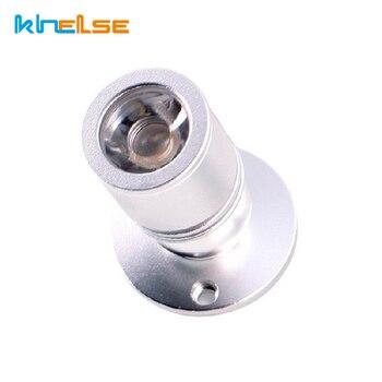 Потолочные светодиодные мини-лампы с регулируемой яркостью, 1 Вт, 3 Вт, переменный ток, 110 В, 220 В, потолочные лампы для витрины шкафа