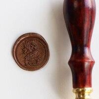 Vintage Creative Wax Seal Stamp Single Wax Stamp Set Diy Wax Seal Auspicious Free Shipping