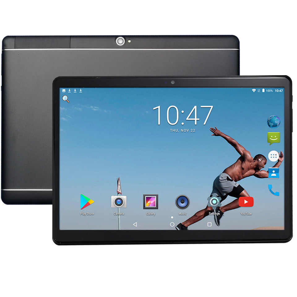 Bmxc 4G LTE Bahasa Rusia Tablet 10 Inch Anak-anak Android Tablet GPS 10.1 1920*1200 Resolusi Tampilan Suppore Telepon tablet 10.1