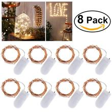 Buy long led light rope and get free shipping on aliexpress 8pcs 2m 20 lamp copper string lights waterproof led rope lights long string copper for home mozeypictures Image collections