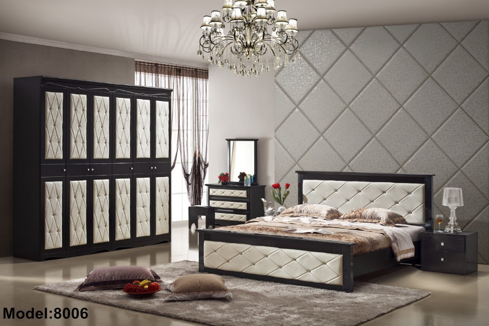 modern wooden new design bedroom sets from reliable bedroom set