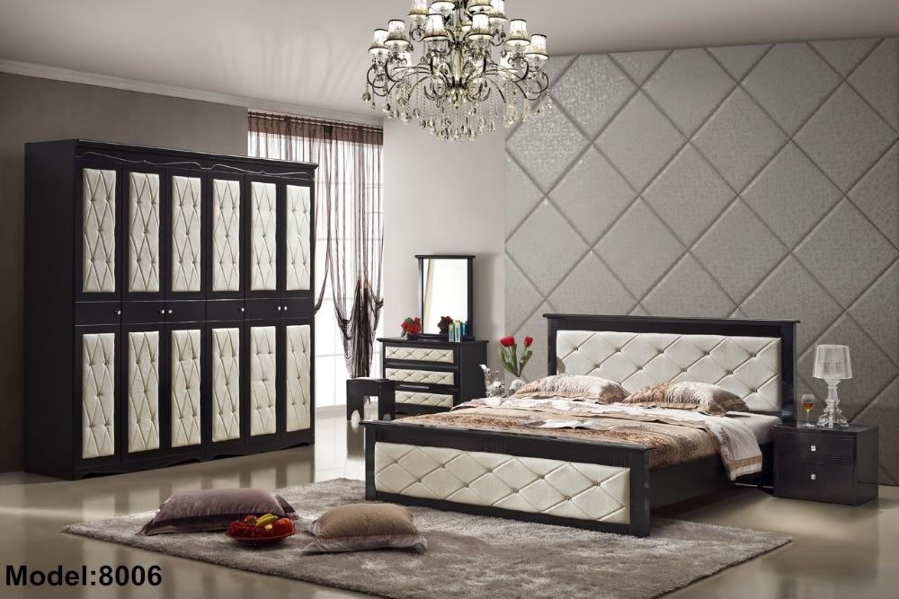 2016 nightstand para quarto bed room furniture set direct selling modern wooden new design bedroom sets - Selling Home Furniture