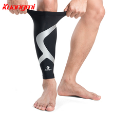 Kuangmi 1 PC Compression Sleeve Betis Calf Support Calf Warmer Shin Guard Shin Splint Sleeve Leg Protector Cycling Football Sock
