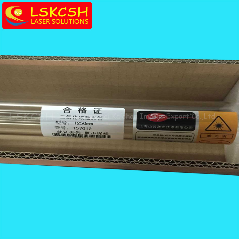 Co2 Laser Tube 60W 1200mm Length 55mm Diameter Shanghai laser tube factory wholesale wooden case цена