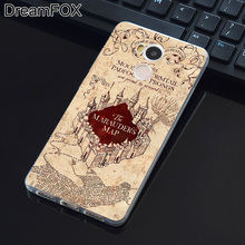 DREAMFOX L374 Harry Potter Deathly Hallows Soft TPU Silicone  Case Cover For Xiaomi Redmi Note 3 3S 4 4A 4X Pro Global Prime
