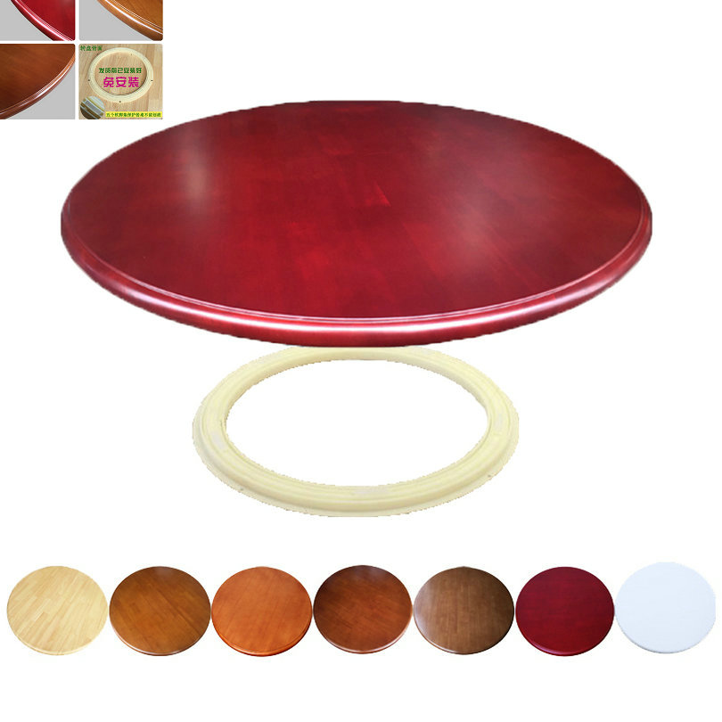 HQ WL3 90CM/36INCH Dia Rotating Turntable Big Lazy Susan 360 Degree Swivel for Dining Table hq wl2 80cm 32inch dia solid oak wood lazy susan turntable dining table swivel plate