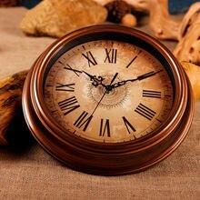Римские цифровые настенные часы в стиле ретро/большие антикварные
