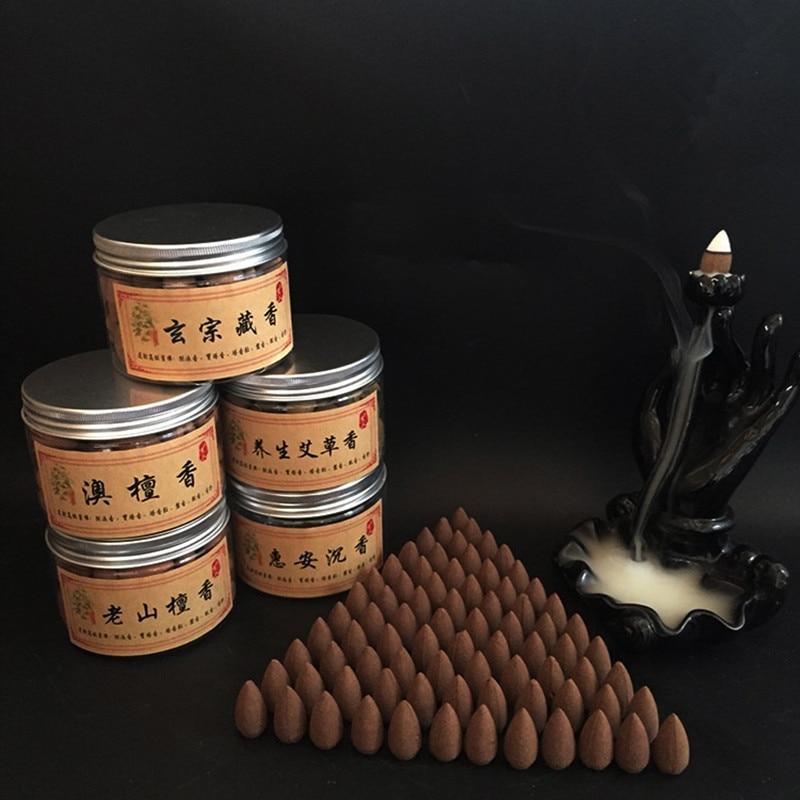 70 Stücke Natürliche Rückfluss Kegel Duftenden Korn Aromatische Natürliche Sandelholz Einsatz Im Wohnzimmer Studie Amt