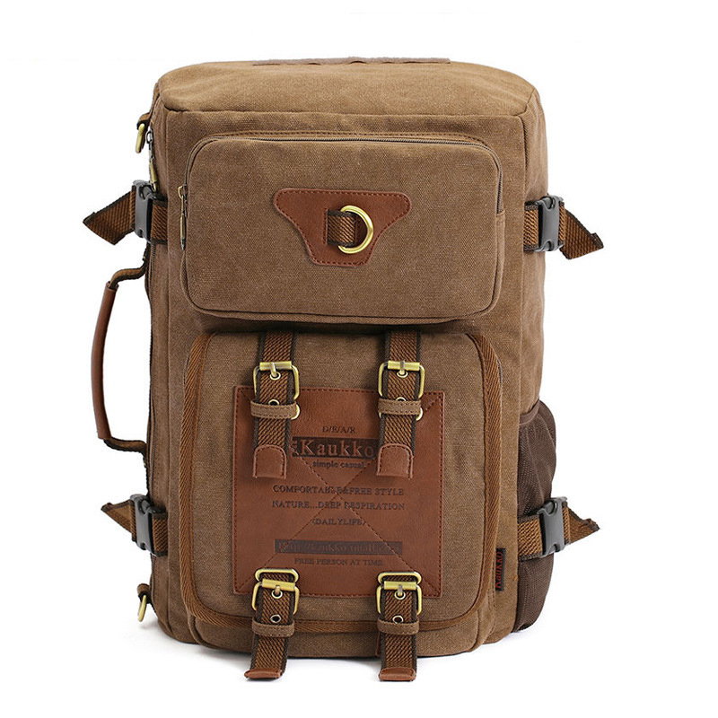 Marke Stilvolle Reise New vintage rucksack canvas backpack leisure travel schoolbag unisex laptop backpacks men backpack male new vintage backpack canvas men shoulder bags leisure travel school bag unisex laptop backpacks men backpack mochilas armygreen