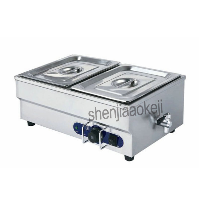 Commercial insulation soup pool Home Electric Multi-function soup pool Stainless Steel Food Warmer Equipment Kitchen Tool 1500wCommercial insulation soup pool Home Electric Multi-function soup pool Stainless Steel Food Warmer Equipment Kitchen Tool 1500w