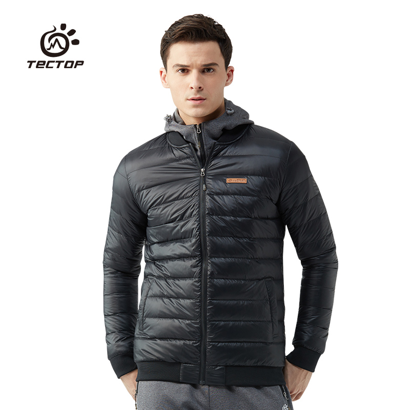 Tectop Winter White Duck Down Jackets For Men And Women Warm Outwear tectop winter 90