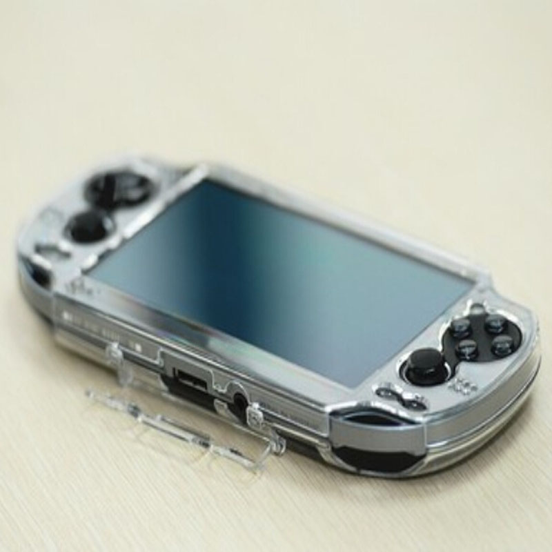 For Sony PlayStation Psvita PS Vita PSV 2000 Crystal Full Body Protector Clear Hard Case Transparent Protective Cover Shell Skin