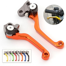 Motocross Pit Bike Dirt CNC Foldable Pivot Brake Clutch Lever For KTM 450 SMR 2007 2008 Surf Racer 450SMR