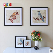 Solid wood photo frame creative children Flexible Multicolor picture home decor wall decoration