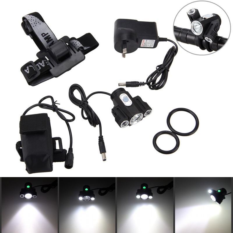 10000LM XML 3xXML T6 +2R5 LED 4.2v Adjust Angle Bicycle Light Head Lamp Headlight with Battery +Headband sitemap 99 xml