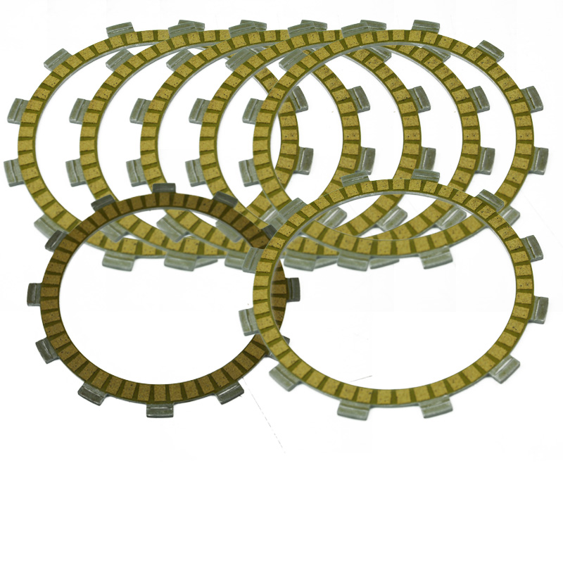 LOPOR Motorbike Engines Parts For YAMAHA Raptor 350 Special Edition YFM35RSE 2007 Motorcycle Friction Clutch Plates