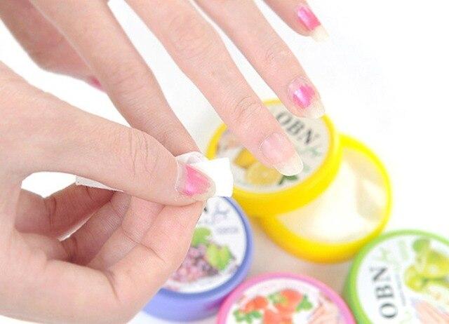 A box of 32 loaded fruit flavor wash nail polish, nail polish, nail polish remover cotton wash water wash small towel