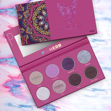 Professional Makeup Palette 8 Color Eyeshadow Pallete Shimmer Glitter Eye shadow Palette Matte Pigment Nude Smoky Cosmetic