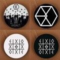 Youpop KPOP K-POP EXO EXO-K EXO-M de PLANETA #2 Álbum ÊXODO Broche Pin Badge Acessórios Para Roupas Chapéu Mochila Decoração HZ1576