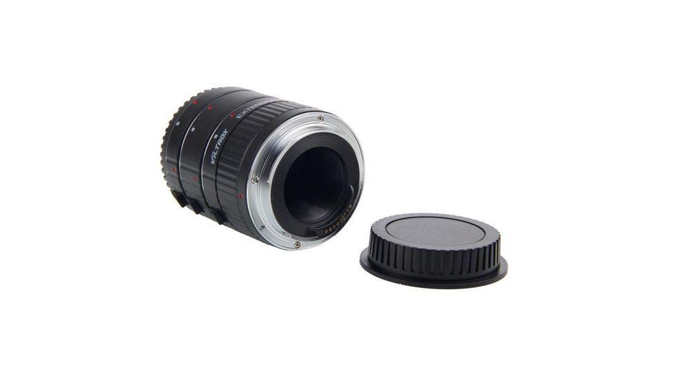 Viltrox DG-C monture en métal Auto Focus AF Macro Extension Tube adaptateur d'objectif pour Canon EOS 750D 700D 800D 77D 60D 5D II IV 7D II 80D - 5