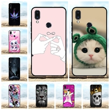 For Meizu Note 9 Cover Ultra-thin Soft TPU Silicone Protective Case Cat Patterned Funda Capa