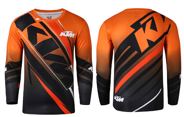MTB Off Road Cycling Jersey Mountain Bike DH Bike Jersey FOR KTM Motocross  Jersey Breathable Light Quick Dry Bicycle Cloth 69f6fd8d0