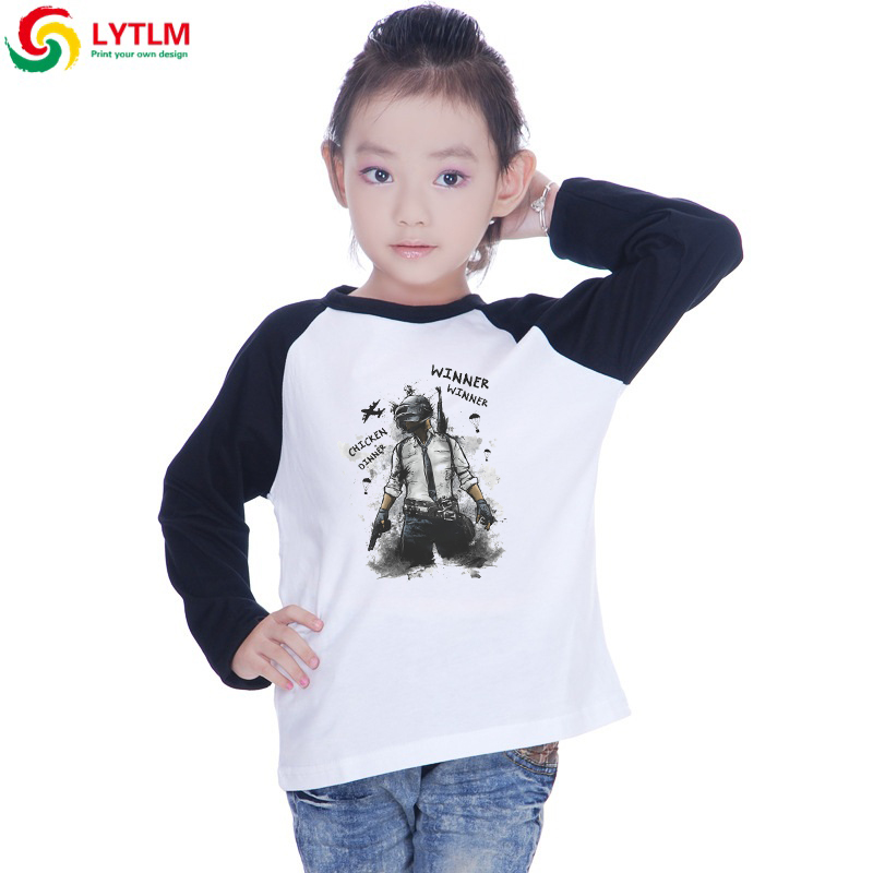 LYTLM Toddler Boys Top Long Sleeve PUBG T Shirt Kids Koszulki Chlopiece Fall Boy T Shirts for Children Poleras Baby Boy T-shirt(China)