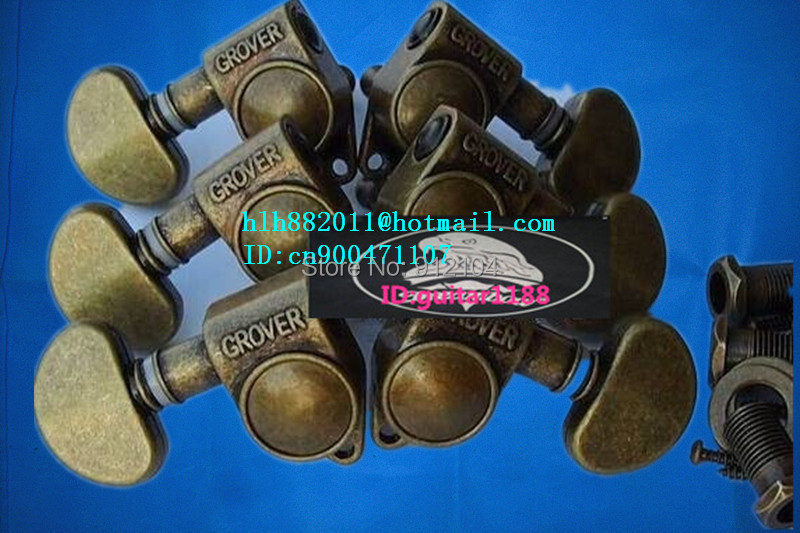free shipping new  electric  guitar tuning peg guitar button in bronze for both side of the guitar   8275 free shipping new electric guitar tuning peg guitar button for both side of the guitar 8298