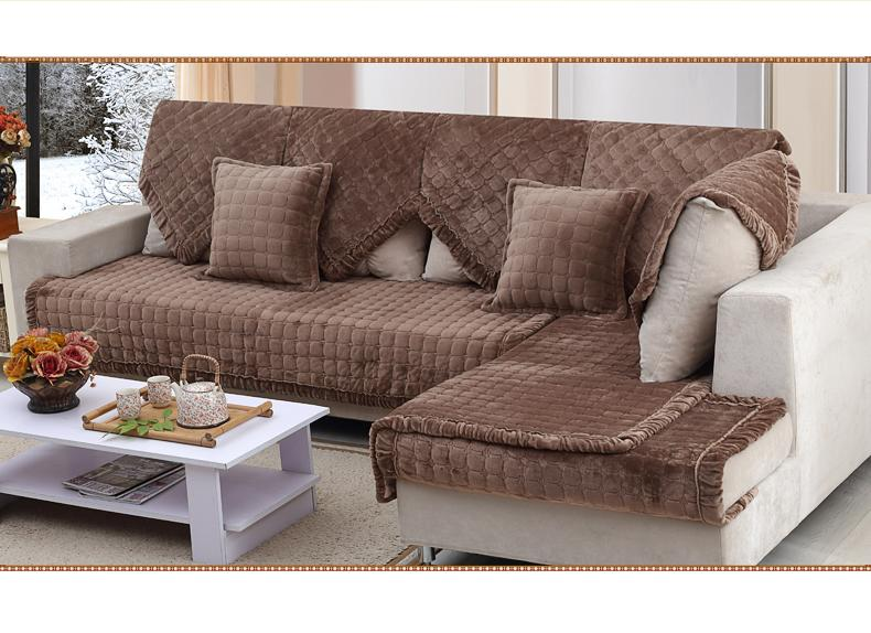 Aliexpress.com : Buy fabric sectional couch covers Luxury ...