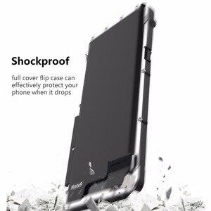Image 5 - Étui pour Samsung Galaxy Note 9 10 en acier inoxydable Armor King coque antichoc pour Samsung Note9 S10 5G en métal de luxe