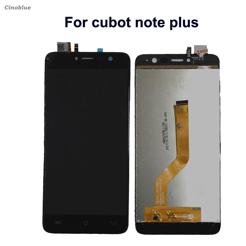 For cubot note plus LCD Display Touch Screen Digitizer Mobile Phone Parts For cubot note plus Mobile Phone Accessories