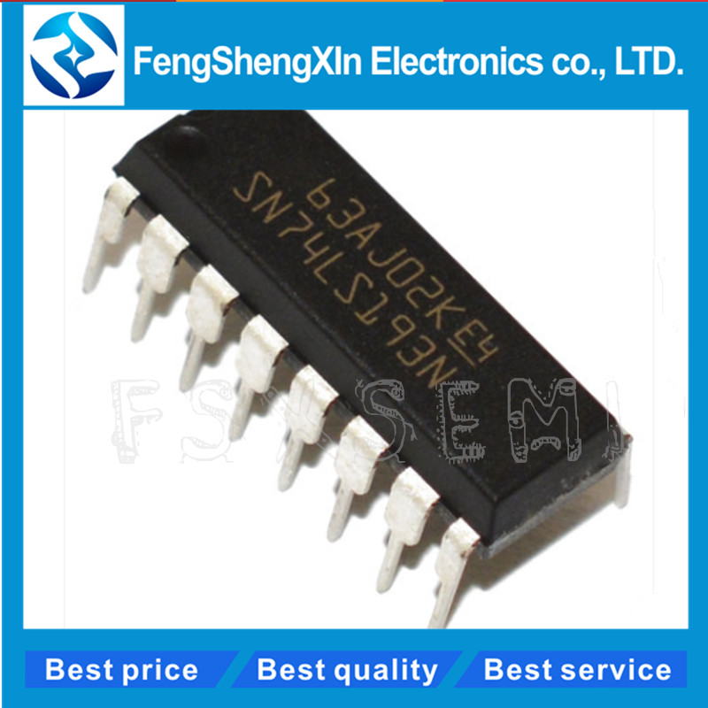 10pcs/lot HD74LS193P 74LS193 SN74LS193N DIP-16 Counter Chip