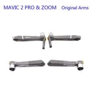 Image 4 - Nouveau DJI Mavic 2 PRO/ZOOM bras corps coque cadre moyen coque inférieure couvercle supérieur Mavic 2 pièces de rechange de réparation de remplacement