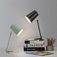 Современные светодиодный Макарон Стол lights Nordic светильников исследование светильники гостиная освещения прикроватная тумбочка для спальн
