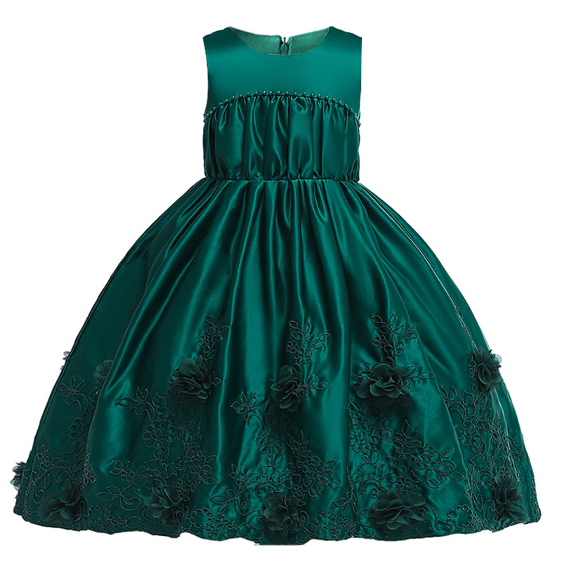 Children Party Dress Flower Girl Dresses Child Clothing Wedding First Communion Dresses Pageant Ball Gown Dresses For Girls