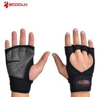 Boodun Weight Lifting Training Gloves Men Women Fitness Sports Body Building Gymnastics Grips Gym Hand Palm Protector Glove