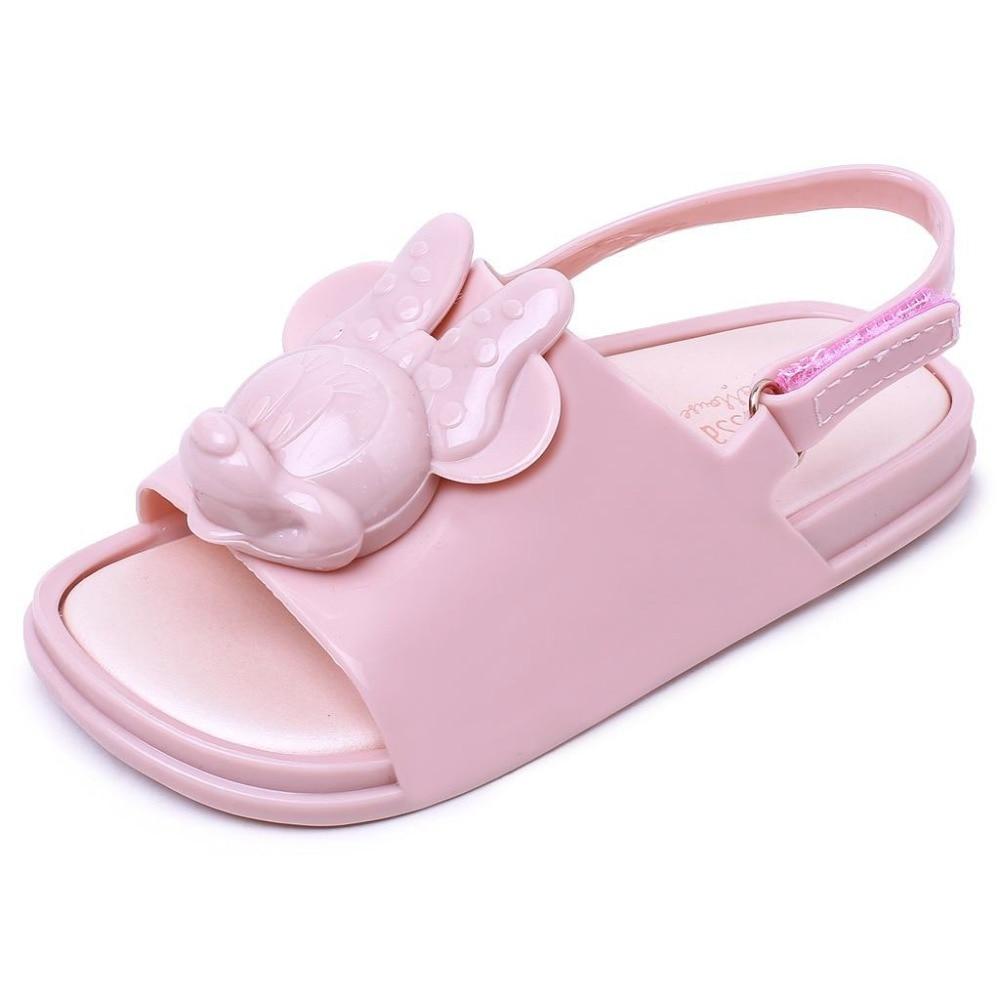 mini sandały dziewczęce do komiksów z miękkiego PVC letnie buty - Obuwie dziecięce - Zdjęcie 6
